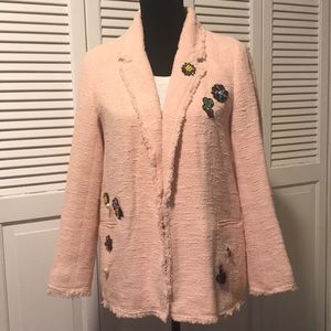 Zara Woman Pink Blazer